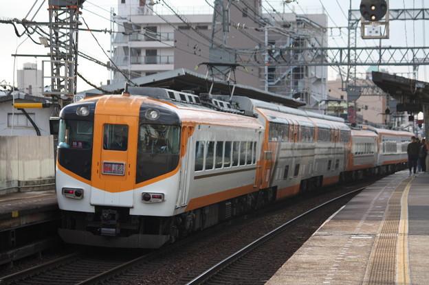 近鉄12400系 サニーカー 新塗装 特急 大阪難波 行