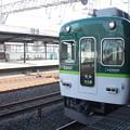 写真: 京阪本線 2400系2466F 普通 中ノ島 行