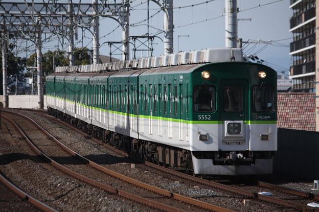 京阪本線 5000系5552F 普通 三条 行