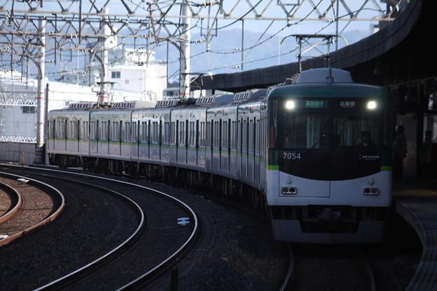 京阪本線 7000系7004F 区間急行 淀屋橋 行