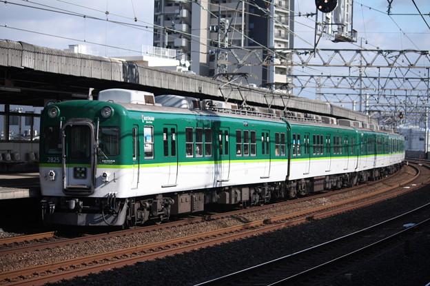 京阪本線 2600系2825F 普通 三条 行