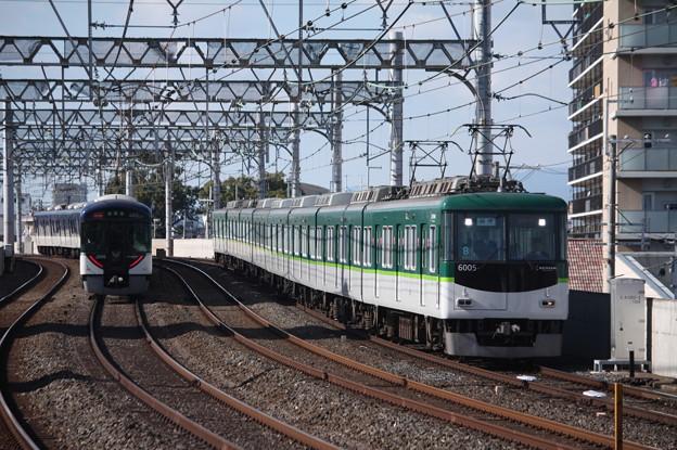 京阪本線 6000系6005F 回送