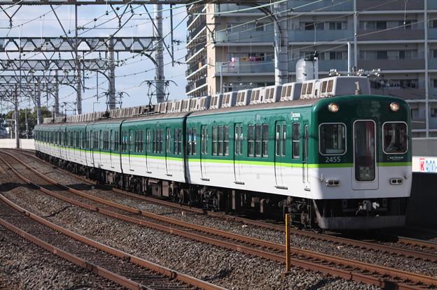 京阪本線 2000系2455F 普通 三条 行