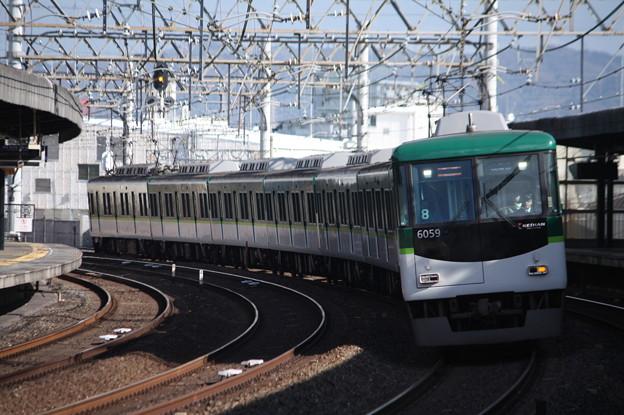 京阪本線 6000系6059F 急行 淀屋橋 行
