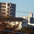 富士山遠望、右肩部分だけ