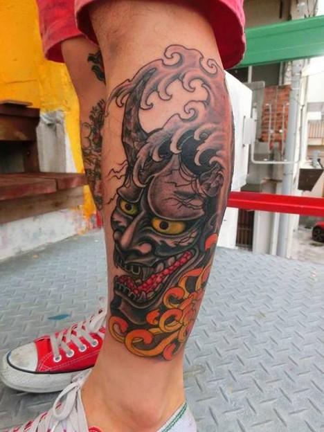 鬼tattoo