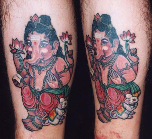 神 God tattoo