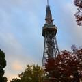 黄昏近いテレビ塔~