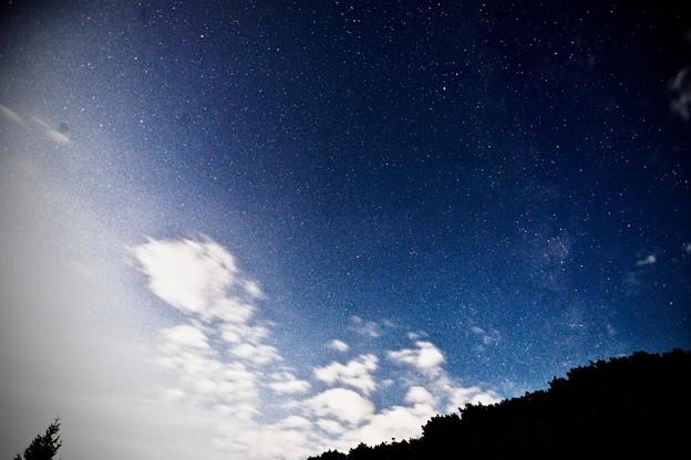 写真: 天の川撮影会にて