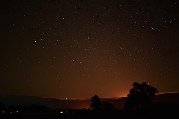 大洞高原から観る星空