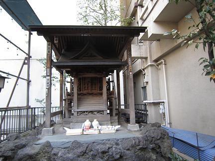 稲荷鬼王神社の恵比寿堂