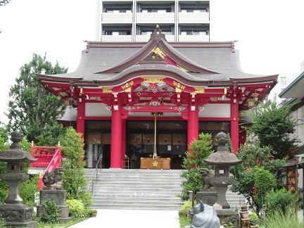 成子神社の本殿