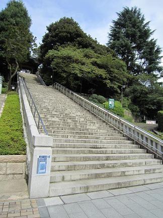 二荒山神社の階段