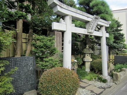 六道の辻近くの旧幕府軍のお墓