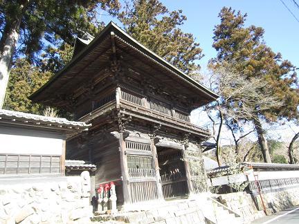 大悲願寺の山門