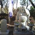 写真: 光厳寺の布袋様