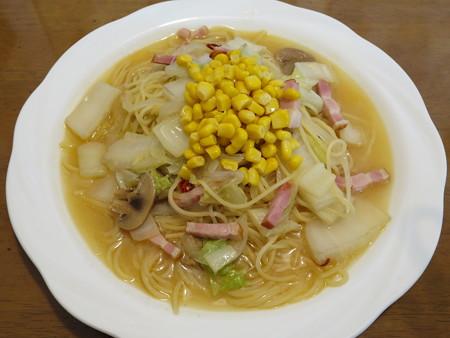 スノーマン みそスープ(パスタ)¥1050