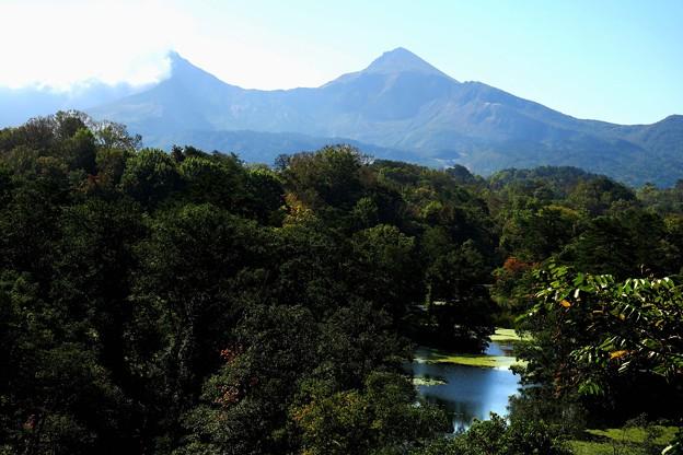 中瀬沼と磐梯山