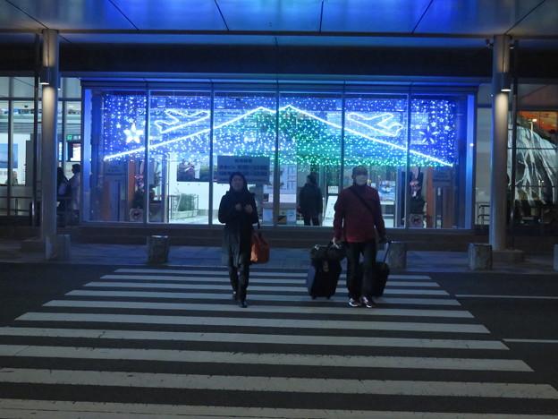 夜の茨城空港