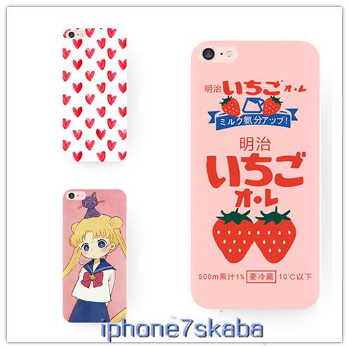 オリジナル iPhone8 ケース iPhoneX カバー 萌え系