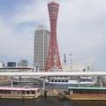 写真: 神戸タワー!