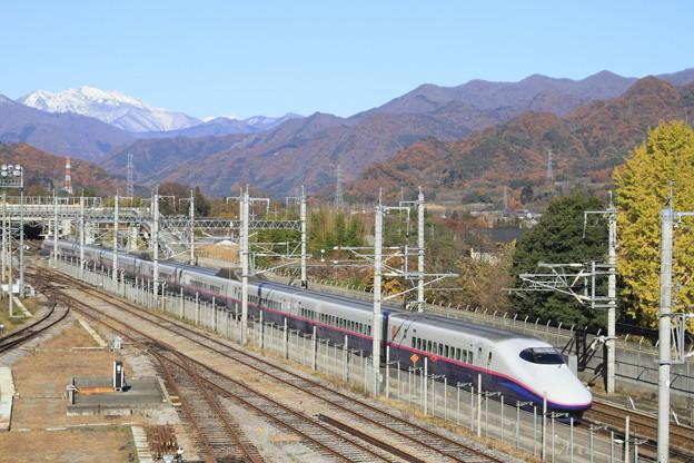 秋の上毛高原駅
