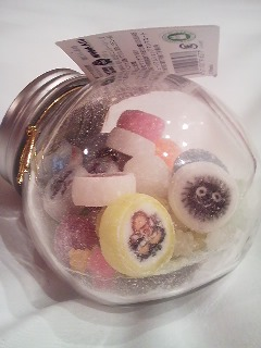 Photos: 今日行った、ジブリ美術館で買ったきゃわいい飴ちゃん?味は普通におい...