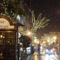吹雪の夜 パセオ通り