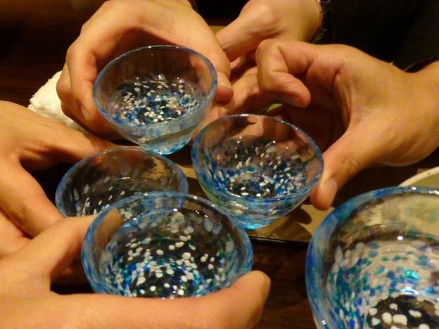 乾杯は会津中将初しぼり