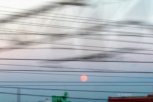 写真: ほんのりピンクのお月さま 6