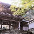 写真: 高源寺山門