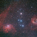写真: IC405とIC410