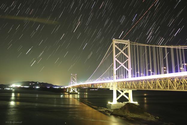 大鳴門橋のオリオン