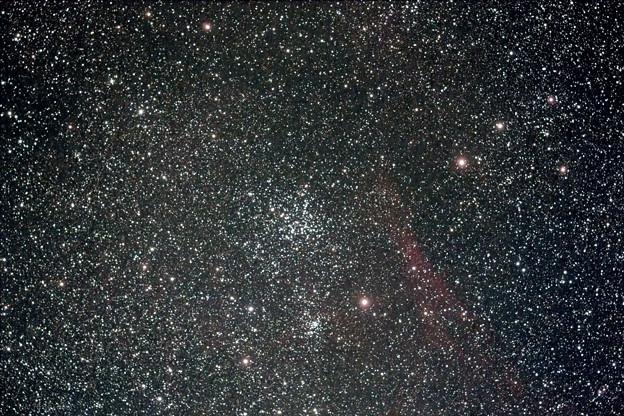 写真: ぎょしゃ座の散開星団M38