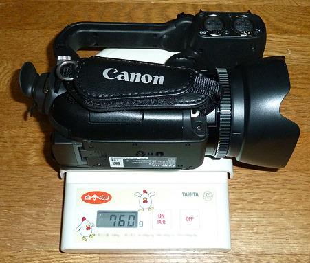 Canon XA10 760g