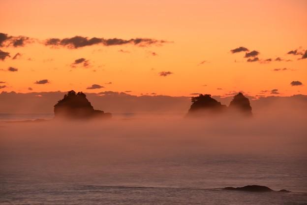 田原の海霧1