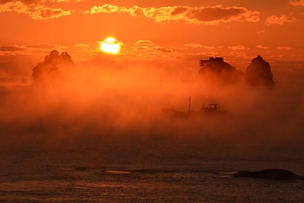 田原の海霧5