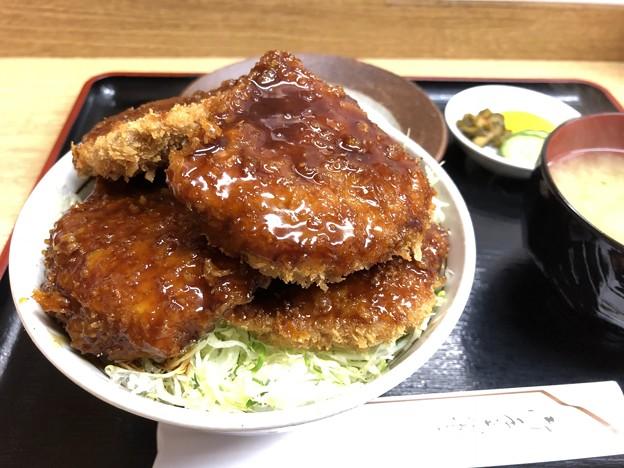 ソースかつ丼