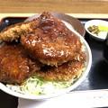 写真: ソースかつ丼