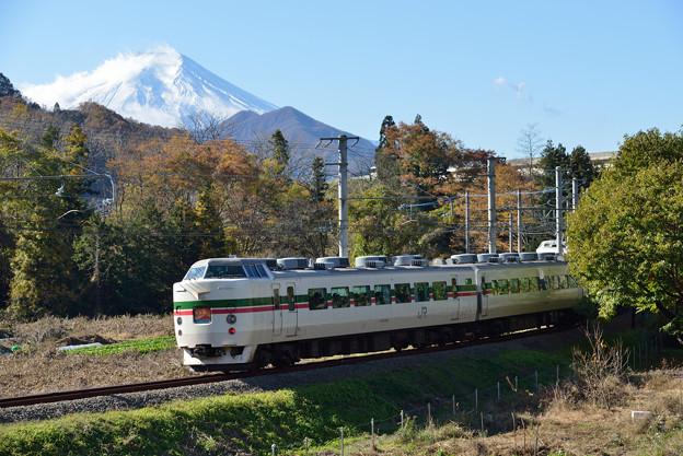 9時42分 ホリ快富士山