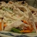 写真: 鶏サラダ