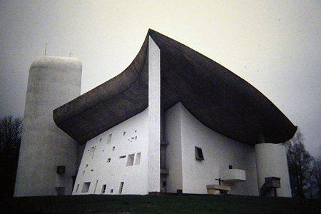 Le Corbusier - Chapelle de Ronchamp NOTRE DAME DU HAUT - 1955