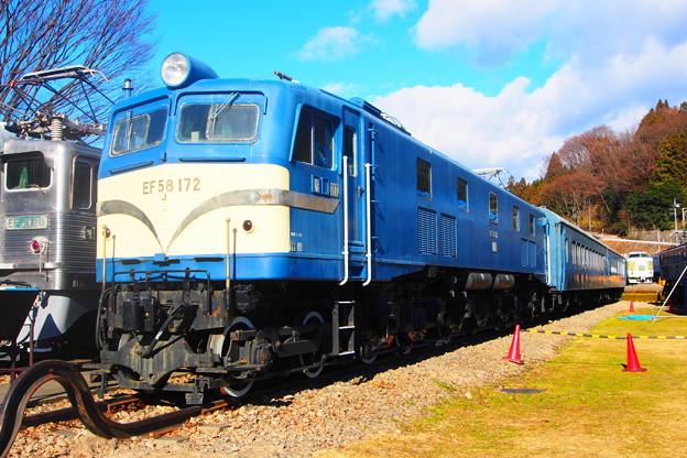 碓氷峠鉄道文化むら EF58