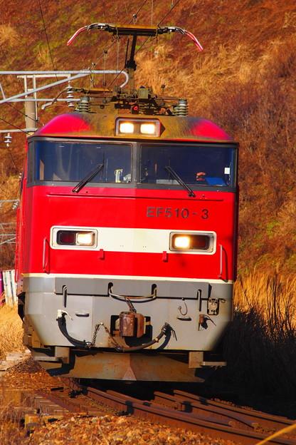 羽越本線 EF510