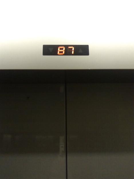 Photos: うちの会社はB1までしかないんだけど、隠しシェルターかな(笑)