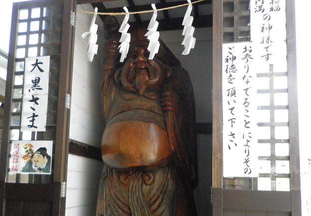 メタボ像(赤穂市)