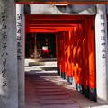 写真: 祈りの道/櫛田神社