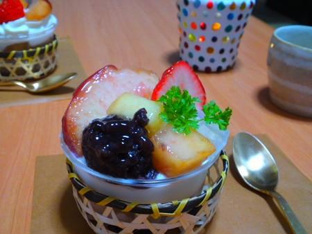 桃のケーキ of サンタムール