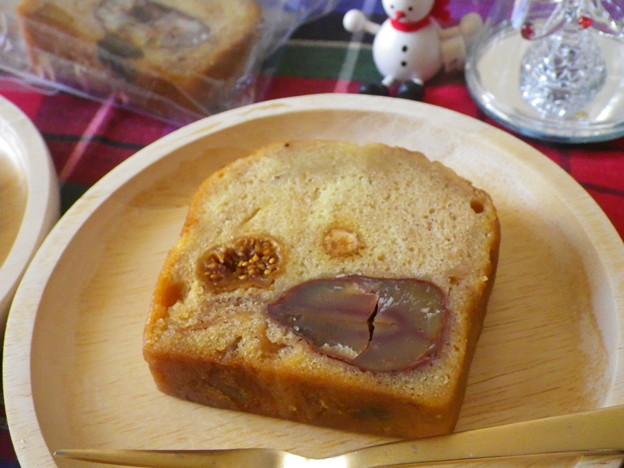 秋のパウンドケーキ