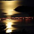 月光で輝く・松島